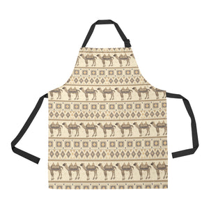 Traditional Camel Pattern Ethnic Motifs Adjustable Apron