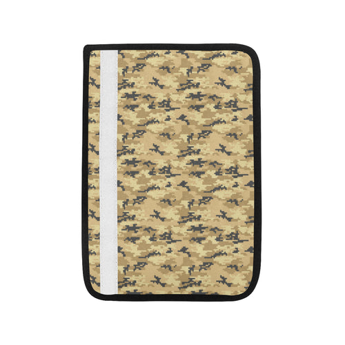 Sand Camo Camouflage Pattern Car Seat Belt Cover