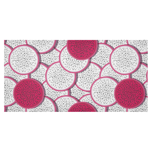 Sliced Dragon Fruit Pattern Tablecloth