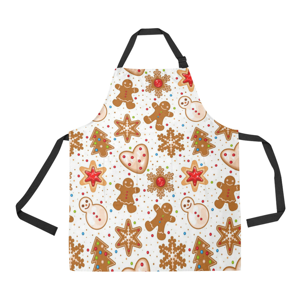 Christmas Cookie Pattern Adjustable Apron