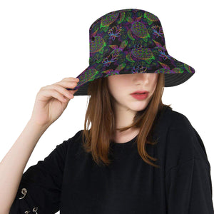 Sea Turtle Pattern Unisex Bucket Hat
