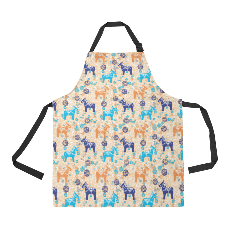 Cute Horse Pattern Adjustable Apron