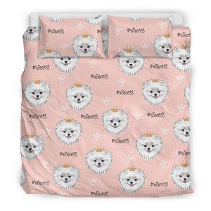 Pomeranian Pattern Bedding Set