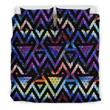 Space Colorful Tribal Galaxy Pattern Bedding Set