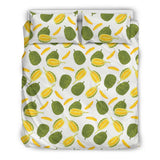 Durian Pattern Background Bedding Set