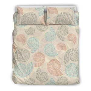 Shell Pattern Bedding Set