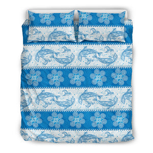 Dolphin Tribal Pattern Bedding Set