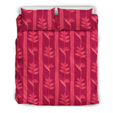 Heliconia Pink Pattern Bedding Set