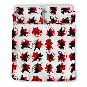 Ninja Pattern Bedding Set