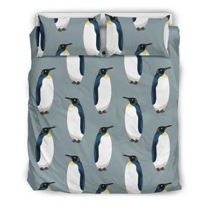 Penguin Pattern Theme Bedding Set
