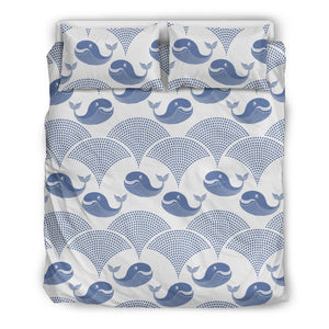 Whale Pattern Bedding Set