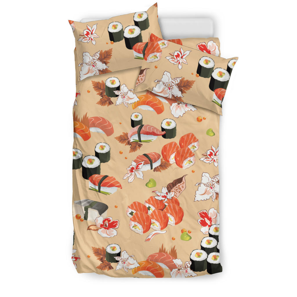 Sushi Pattern Bedding Set