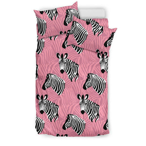 Zebra Head Pattern Bedding Set