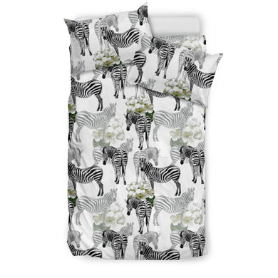 Zebra Pattern Bedding Set