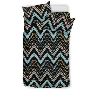 Zigzag Chevron African Afro Dashiki Adinkra Kente Bedding Set
