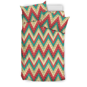 Zigzag Chevron Pattern Bedding Set
