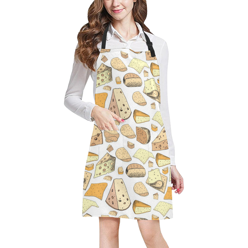 Cheese Pattern Theme Adjustable Apron