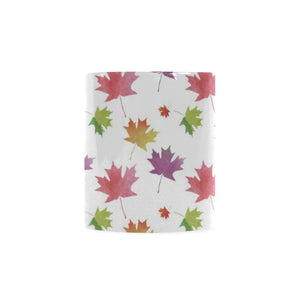 Maple Leaves Pattern Classical White Mug (FulFilled In US)