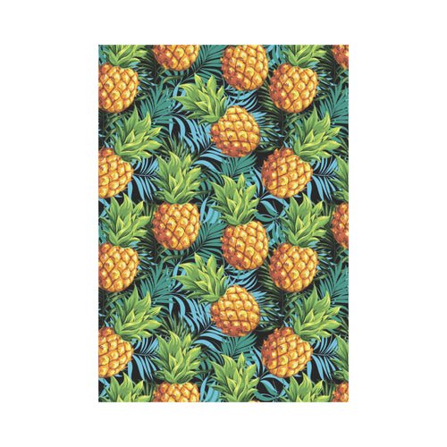 Pineapple Pattern House Flag Garden Flag