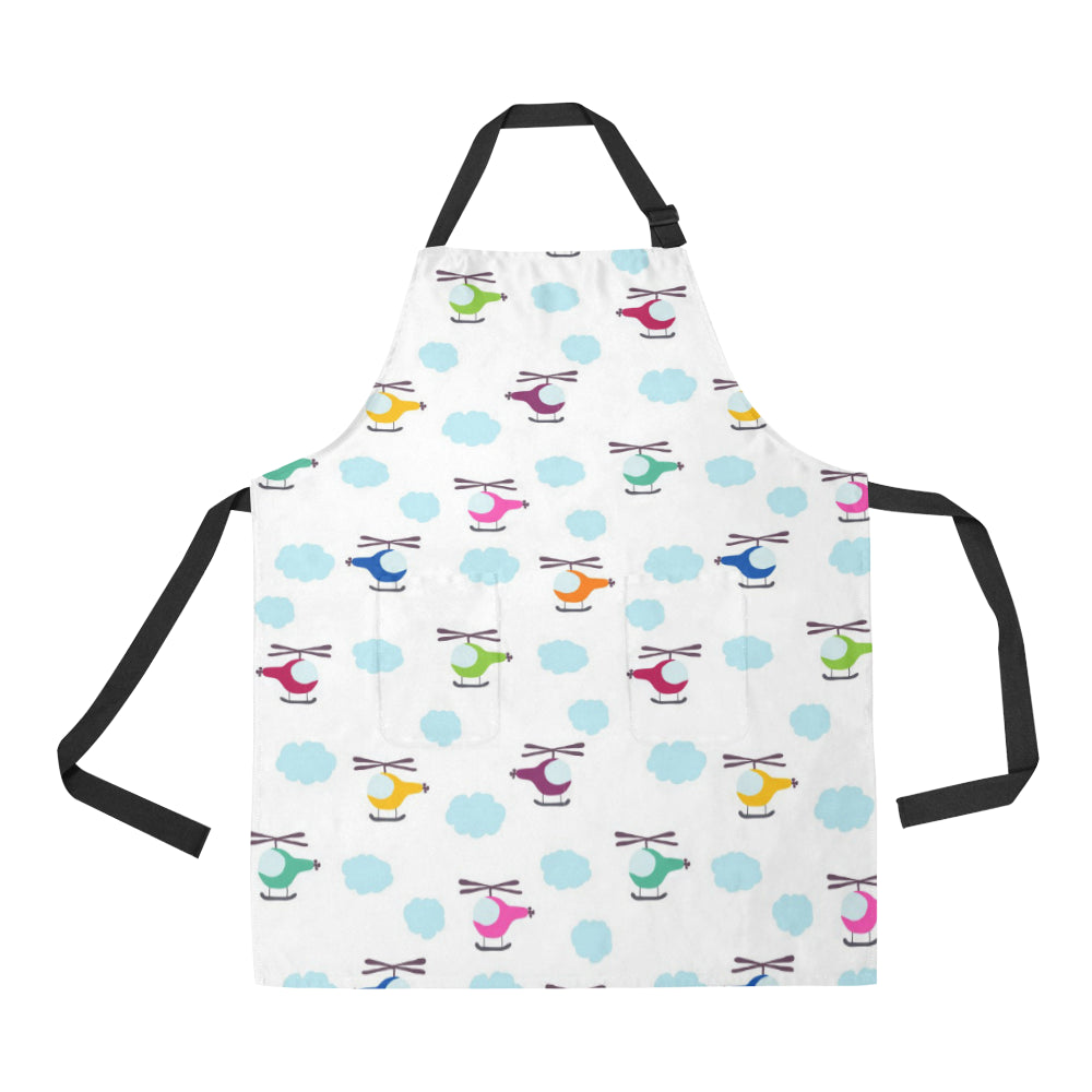 Helicopter Could Pattern Adjustable Apron