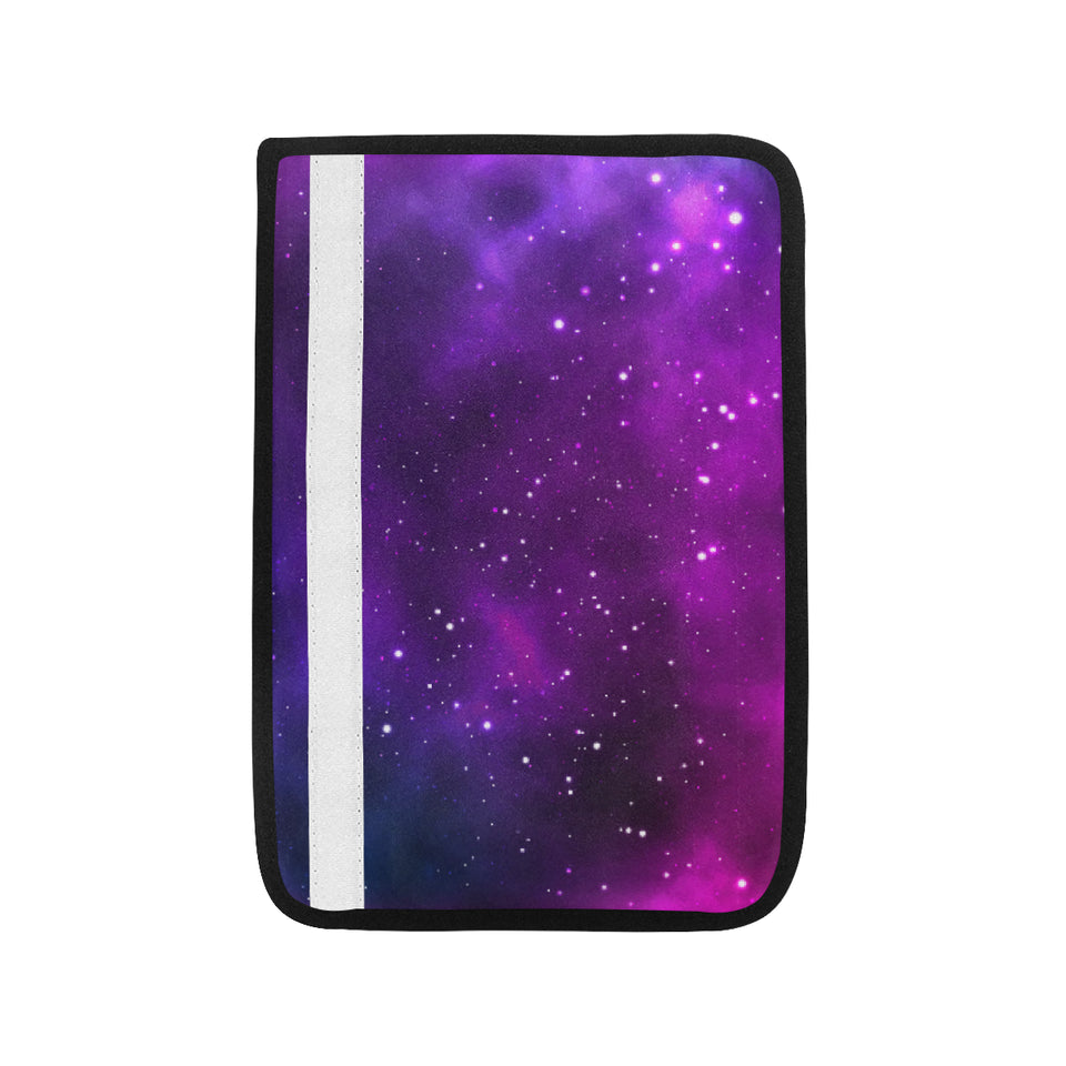 Pink Space Galaxy Pattern4 Car Seat Belt Cover