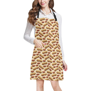 Peanut Pattern Adjustable Apron