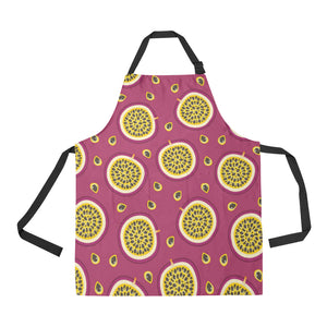 Sliced Passion Fruit Pattern Apron