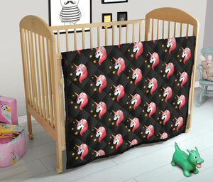 Unicorn Star Pattern Premium Quilt