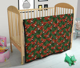 Squirrel Pattern Print Design 03 Premium Quilt