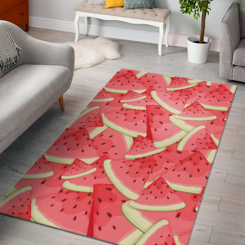 Watermelon Pattern Background Area Rug