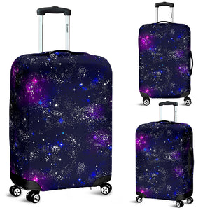 Space Galaxy Pattern Luggage Covers