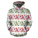 Grape Grahpic Decorative Pattern Men Women Pullover Hoodie