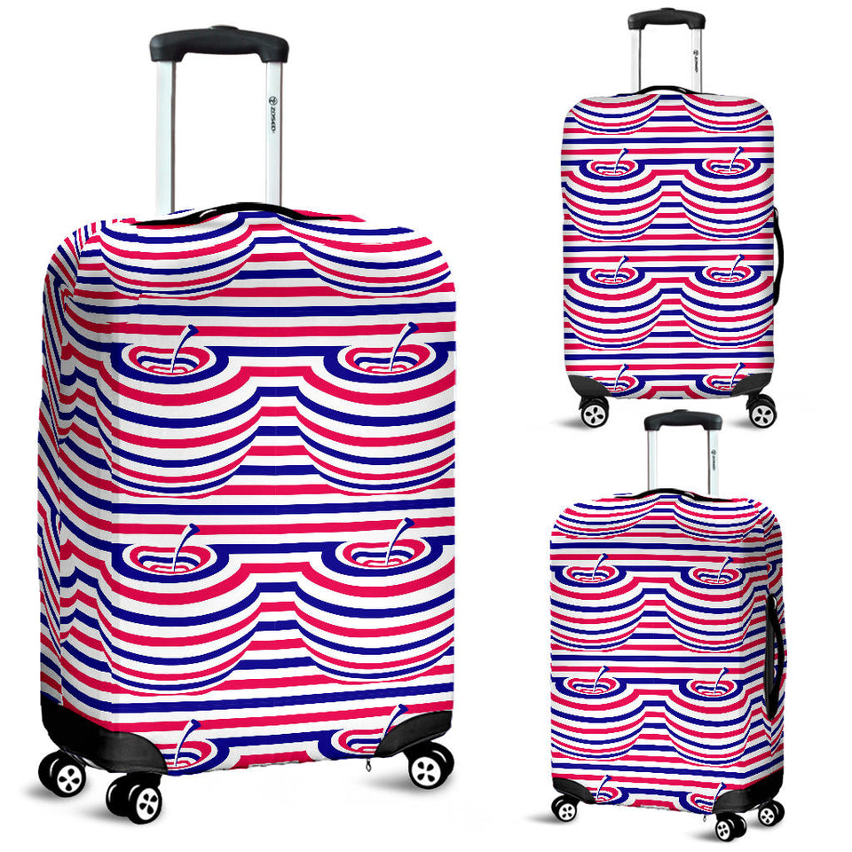 Apple USA Pattern Luggage Covers