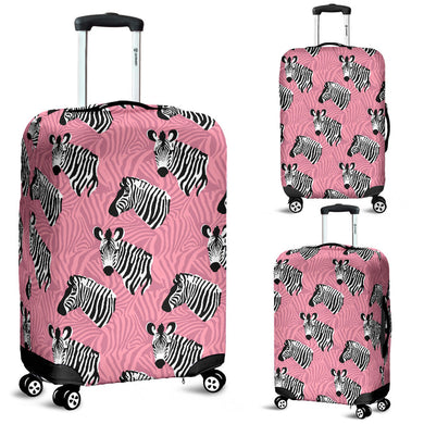 Zebra Head Pattern Luggage Covers