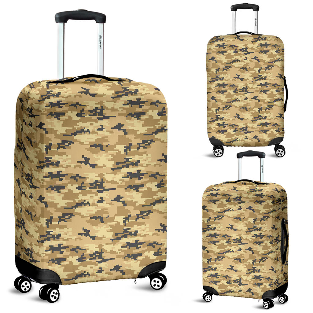 Sand Camo Camouflage Pattern Luggage Covers