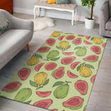 Guava Pattern Background Area Rug