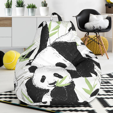 Panda Pattern Bean Bag Chair