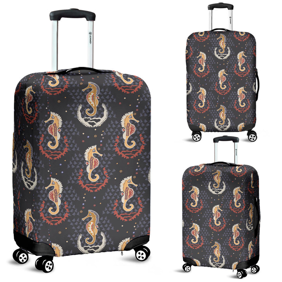 Seahorse Pattern Luggage Covers