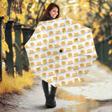 Pancake Pattern Print Design 01 Umbrella