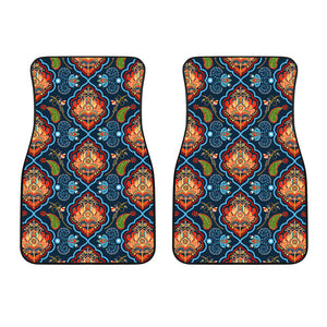 Indian Traditional Pattern Front Car Mats