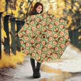 Hedgehog Pattern Print Design 01 Umbrella