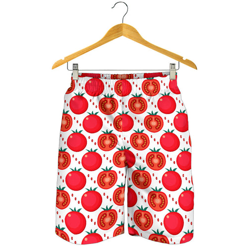 Tomato Pattern Men Shorts