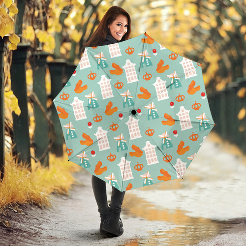 Windmill Pattern Theme Umbrella