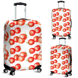 Tomato Water Color Pattern Luggage Covers