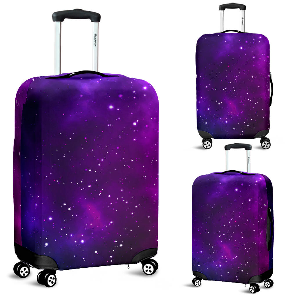 Pink Space Galaxy Pattern4 Luggage Covers