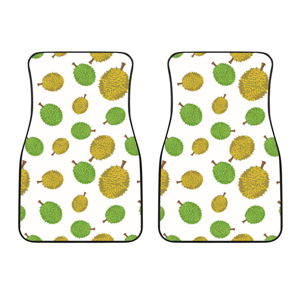 Durian Background Pattern  Front Car Mats
