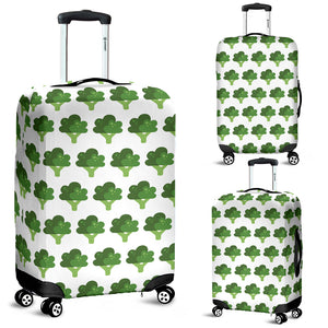 Broccoli Pattern Luggage Covers