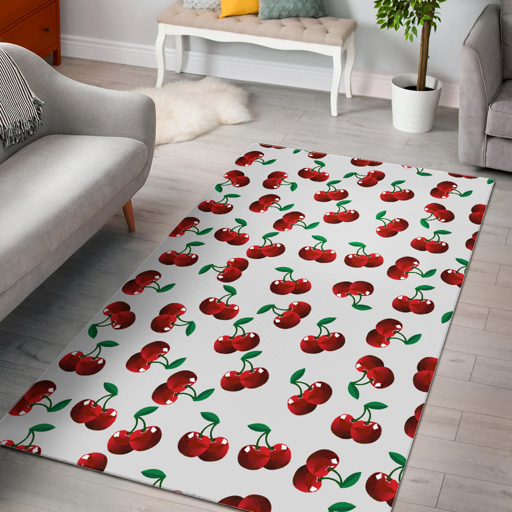 Cherry Pattern Area Rug