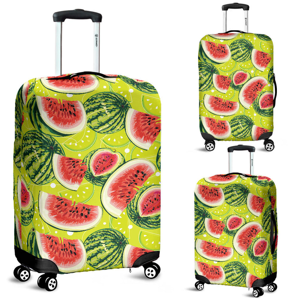 Watermelon Theme Pattern Luggage Covers