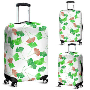 Ginkgo Pattern Luggage Covers